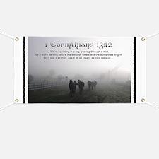 Peering Through a Mist Banner