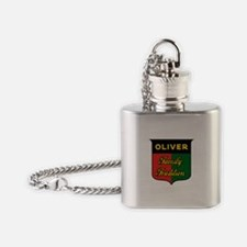 Oliver Farming Family Tradition Flask Necklace