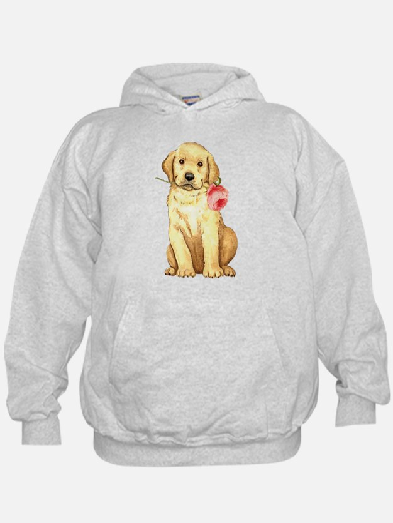 Cute Yellow labrador Hoodie