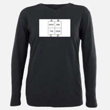 What are the odds Plus Size Long Sleeve Tee