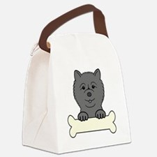 Funny Lap dogs Canvas Lunch Bag
