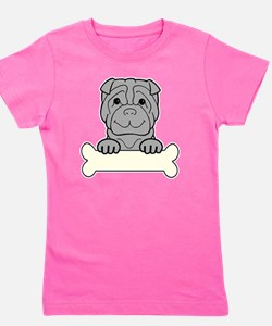 Funny Lap dogs Girl's Tee