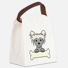 Cool Lap dogs Canvas Lunch Bag