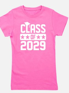 Cute Class 2029 Girl's Tee