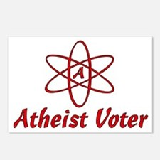 Atheist Voter Postcards (Package of 8)