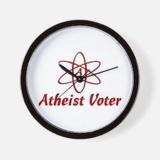Atheist Voter Wall Clock
