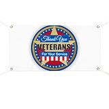 Thank you veteran Banners