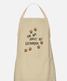 Ask Me About My Granddog Apron