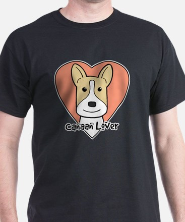 Cute Canaan dog art T-Shirt