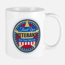 Thank You Veterans Mugs