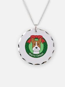 Cute Canaan dog Necklace