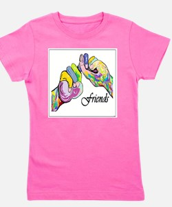 ASL Friends Girl's Tee