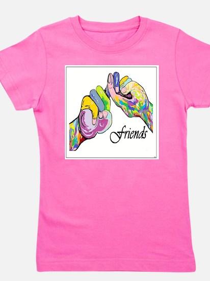 ASL Friends Girl's Tee