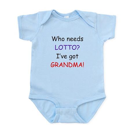 Who needs lotto Infant Bodysuit