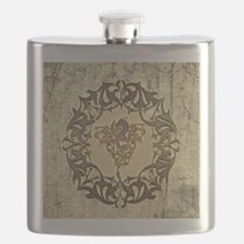 Wonderful dragon with wings Flask