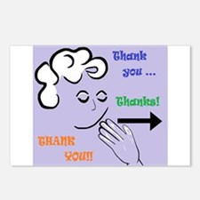 ASL Thank You Postcards (Package of 8)
