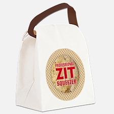 Zit Squeezer Canvas Lunch Bag
