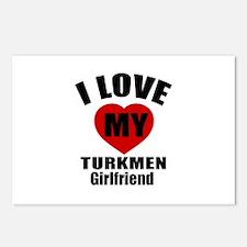 I Love My Turkmenistan Gi Postcards (Package of 8)