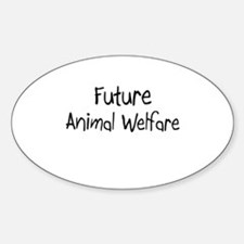 Future Animal Welfare Oval Decal