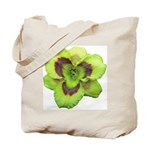 Gold w/ Purple Eye Daylily Tote Bag