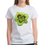 Gold w/ Purple Eye Daylily Women's T-Shirt