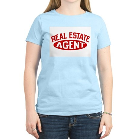 REAL ESTATE AGENT (Red) Women's Light T-Shirt