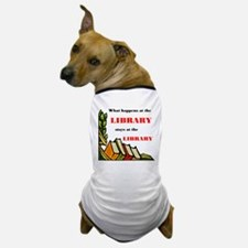 LIBRARY Dog T-Shirt