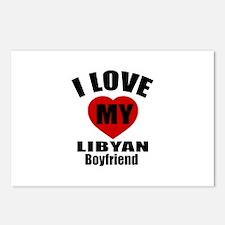 I Love My Libya Boyfriend Postcards (Package of 8)
