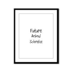 Future Animal Scientist Framed Panel Print