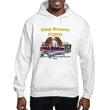 Stop Beaver Fights Hoodie