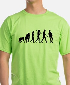 Evolution of the Guitarist T-Shirt