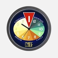 CMDF Miniaturization Timer Wall Clock