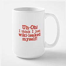 wiki-leaked myself Mugs
