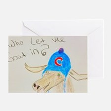 Cool Cardinals cubs Greeting Card