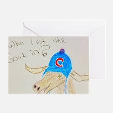 Cute Giants world series Greeting Card