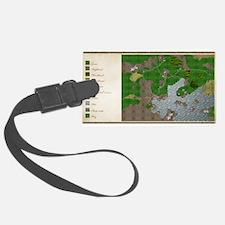 RPG Map Cuanscadan Luggage Tag