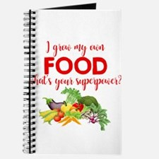 Grow My Own Food Journal