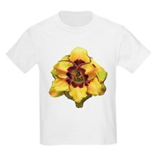 Peach Double Daylily T-Shirt