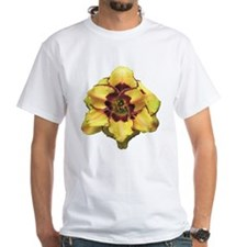 Peach Double Daylily Shirt
