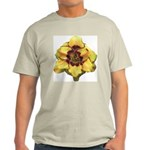 Peach Double Daylily Light T-Shirt