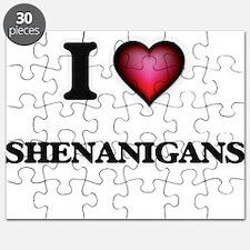 I Love Shenanigans Puzzle