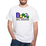 Boston Ball Breaker White T-Shirt