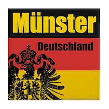Münster Deutschland  Tile Coaster