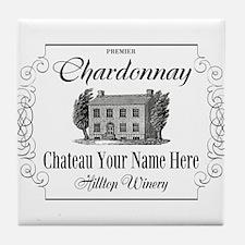 Classic Custom Chardonnay Tile Coaster