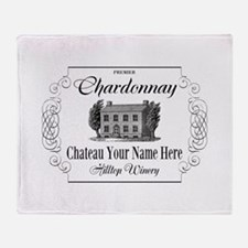 Classic Custom Chardonnay Throw Blanket