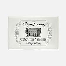 Classic Custom Chardonnay Magnets