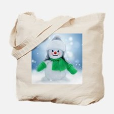 Snowman Wishes Tote Bag
