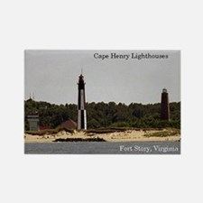 Cape Henry Ligthouses Magnets