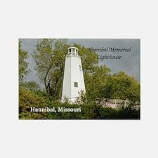 Hannibal Memorial Lightouse Magnets