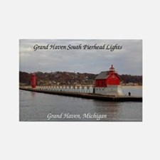 Grand Haven South Pierhead Lights Magnets